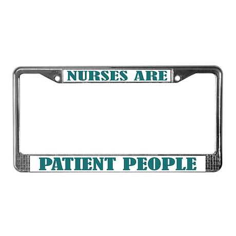 Nurse Nursing License Plate Frame