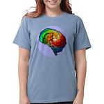 Neurodiversity Rainbow Brain Comfort T-Shirt