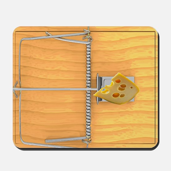 Mouse Trap Mousepad