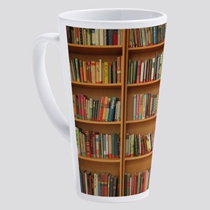 Bookshelf Books 17 oz Latte Mug