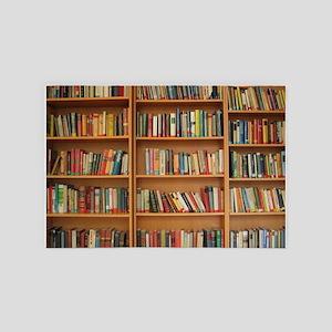 Bookshelf Books 4' x 6' Rug