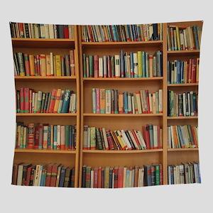 Bookshelf Books Wall Tapestry