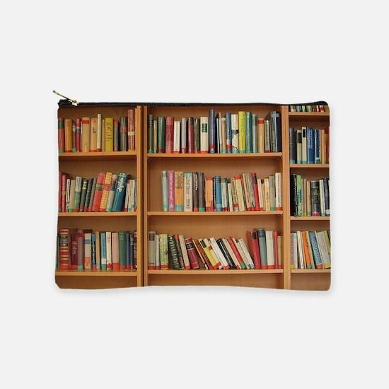 Bookshelf Books Makeup Pouch