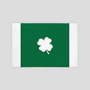 St Patricks Day Shamrock 4' x 6' Rug