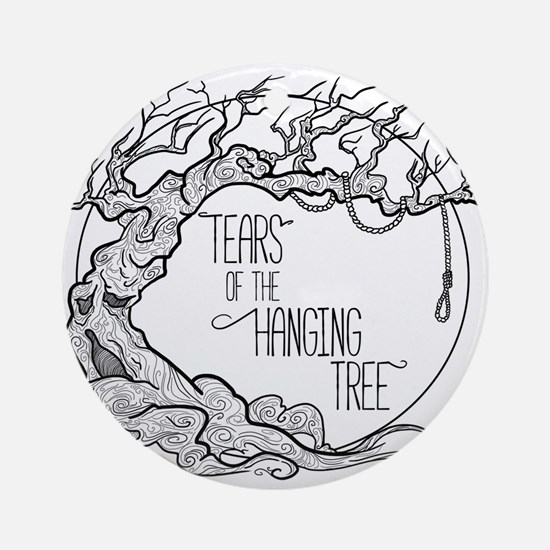 Tears of the Hanging Tree Round Ornament