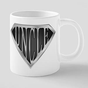 SuperUncle(metal) Mugs