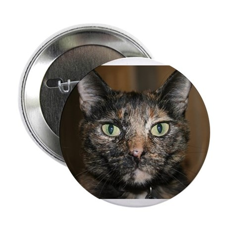 Tortoiseshell Cat Button