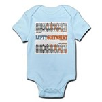 Lefty Scale/Mode Cheat Sheet Infant Bodysuit