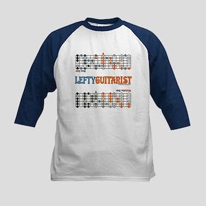 Lefty Scale/Mode Cheat Sheet Kids Baseball Jersey