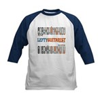 Lefty Scale/Mode Cheat Sheet Kids Baseball Jersey