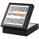 Lefty Scale/Mode Cheat Sheet Keepsake Box