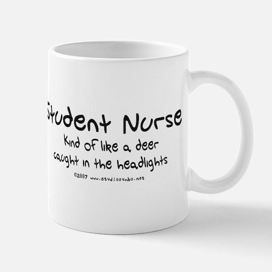 Deer in Headlights Student Nurse Mug
