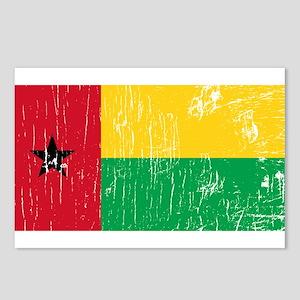Vintage Guinea-Bissau Postcards (Package of 8)