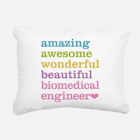 Biomedical Engineer Rectangular Canvas Pillow