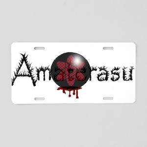 Amaterasu Aluminum License Plate