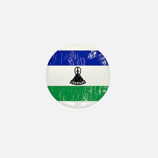 Vintage Lesotho Mini Button