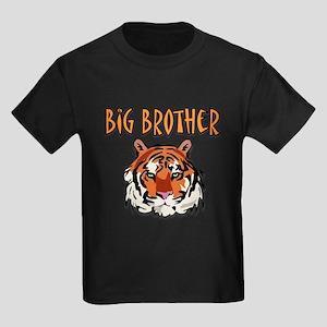 Big Brother Tiger Kids Dark T-Shirt