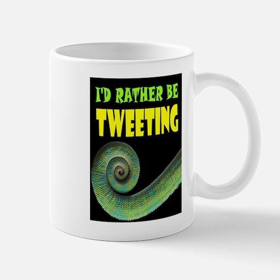 TWEETING Mugs