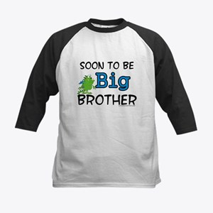 Soon to be big brother Kids Baseball Jersey