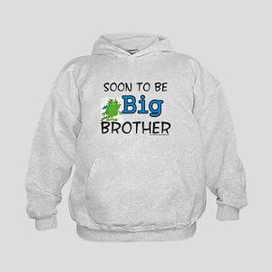 Soon to be big brother Kids Hoodie