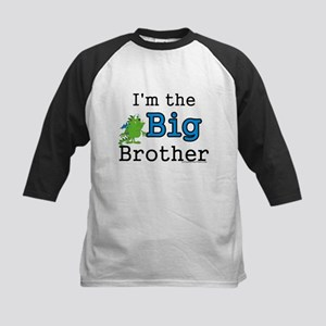 I'm the big brother - green m Kids Baseball Jersey