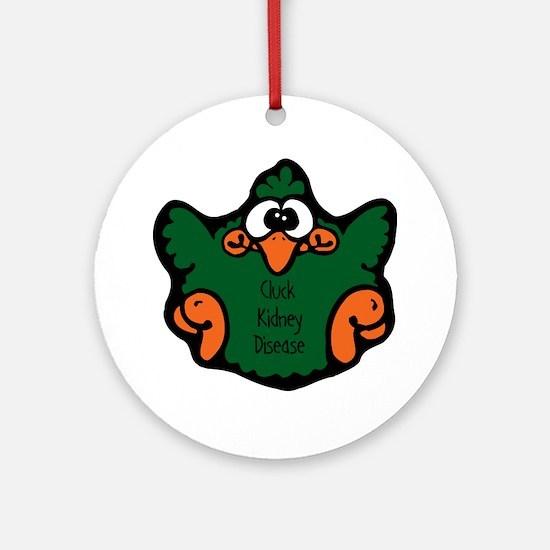 Kidney Disease Ornament (Round)