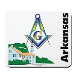 Arkansas Freemasons Mousepad