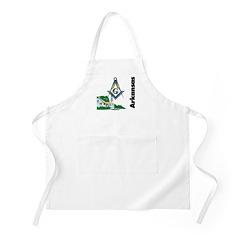 Arkansas Freemasons BBQ Apron