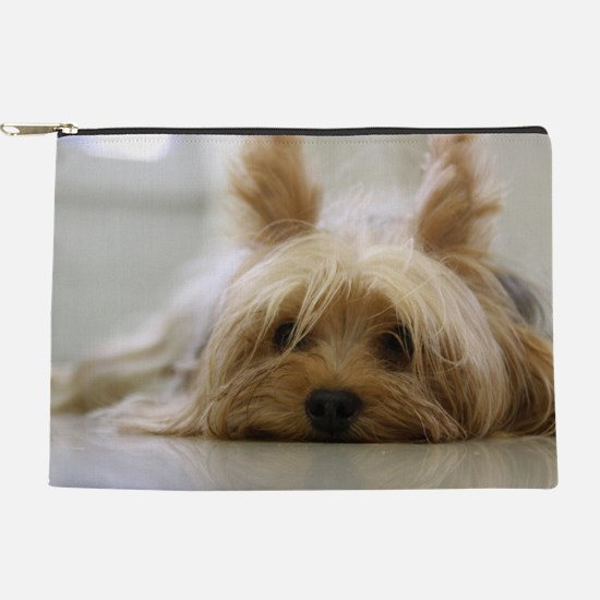 Yorkie Dog Makeup Pouch