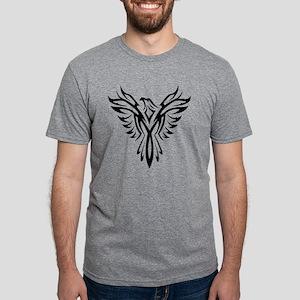 Tribal Phoenix Tattoo Bird T-Shirt