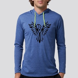 Tribal Phoenix Tattoo Bird Long Sleeve T-Shirt