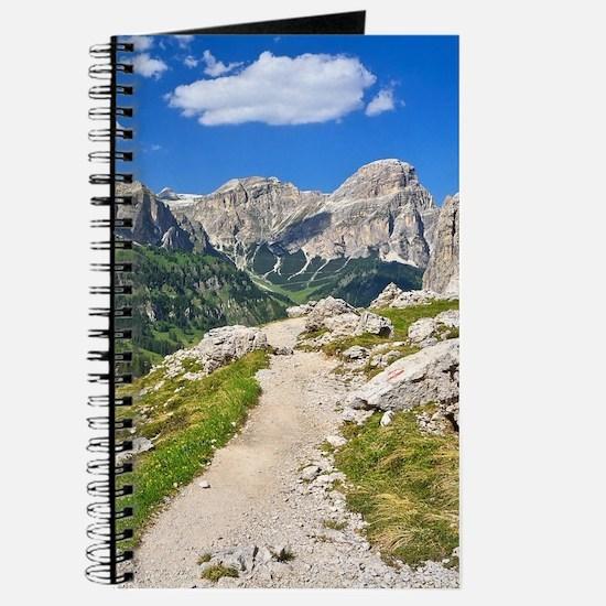 Dolomiti - footpath in Val Badia Journal
