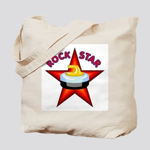 """""""Rock Star (Curling)"""" Tote Bag"""