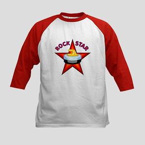 """Rock Star (Curling)"" Kids Baseball Jersey"