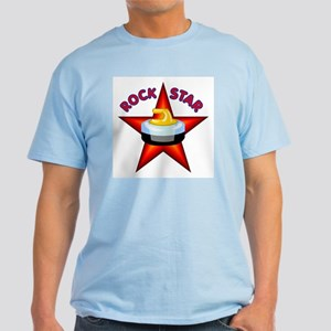 """Rock Star (Curling)"" Light T-Shirt"