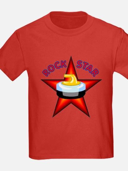 """""""Rock Star (Curling)"""" T"""