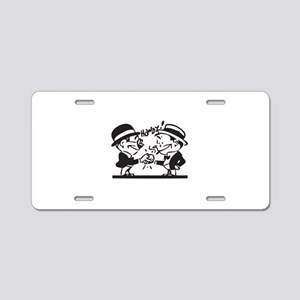 howdy Aluminum License Plate