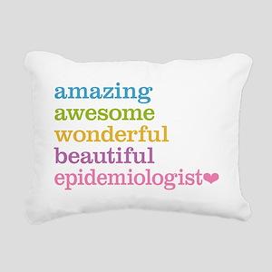 Epidemiologist Rectangular Canvas Pillow