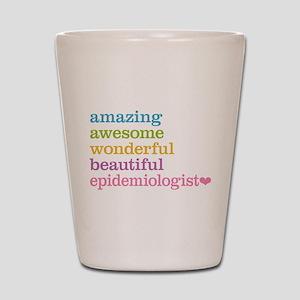 Epidemiologist Shot Glass