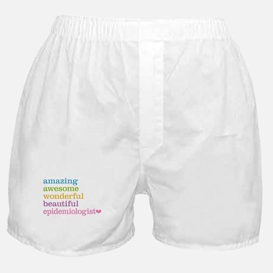 Epidemiologist Boxer Shorts