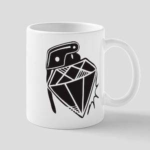 Diamond grenade Mugs