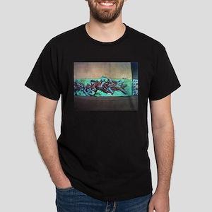 Painting graffiti blue T-Shirt