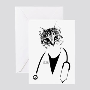 Dr. Cat Greeting Cards