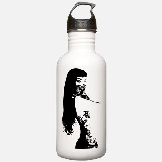 Unique Tattoo art Water Bottle