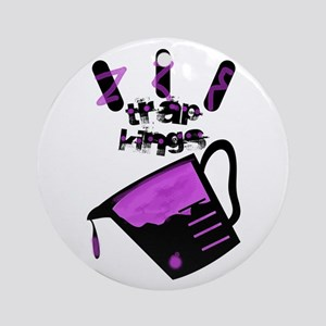Trap kings Ornament (Round)