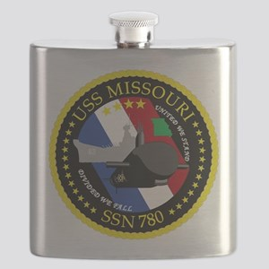 USS Missouri SSN 780 Flask