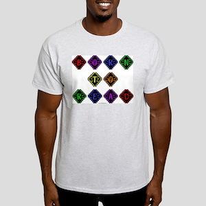 Born to Read Diamonds Light T-Shirt