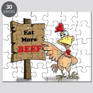 Eat More Beef Puzzle