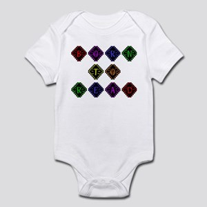 Born to Read Diamonds Infant Bodysuit