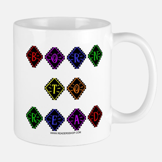 Born to Read Diamonds Mug